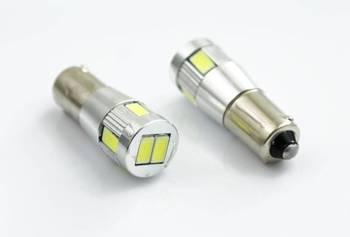 Car LED bulb BA9S 5630 SMD 6 POWER CAN BUS
