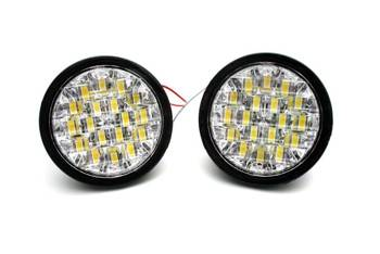 DRL 10 | Lights LED daytime | round  90 mm