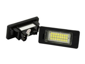 LHLP001S28 LED license plate light BMW 1 Series (E82, E88), 3 (E90), 5 (E39 E60), X