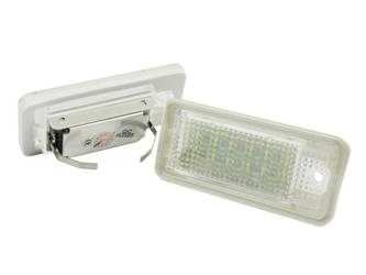 LHLP015S28 LED license plate illumination Audi A3 S3 A4 S4 A6 S6 A8 S8 RS4 RS6 Q7