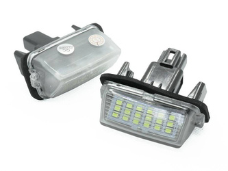 PZD0070 LED license plate light TOYOTA Avensis, Corolla, Camry, Prius, Verso