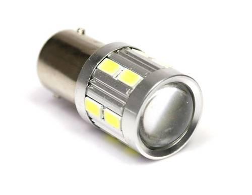 Car LED Bulb BA15S 16 SMD 5630 lens