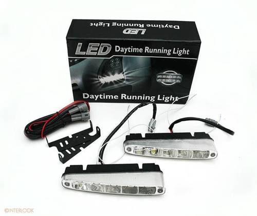 DRL 07 PREMIUM   Lights HIGH POWER LED daytime running   oblique
