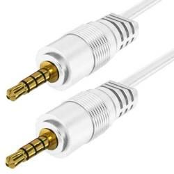 AC-1-1M-Weiß | Jack geflochtene Kabel
