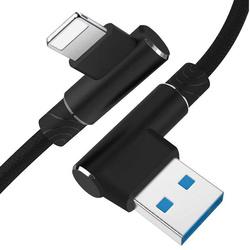 AM30   Apple-Blitz-2M   Abgewinkelte USB-Kabel Ihr Telefon aufzuladen   iPhone 5 6 7 8 X 11 2.4A