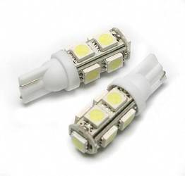 Auto LED-Birne T10 W5W 9 SMD 5050