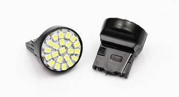 Auto-LED-Lampe T20 W21W WY21W 22 SMD 1206 FRONT