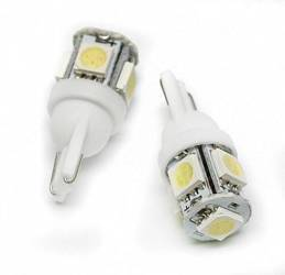 Auto-LED-Lampe W5W T10 5 SMD 5050
