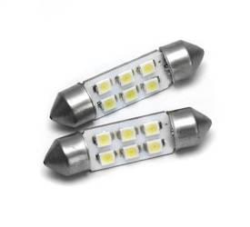 C5W LED-Birnen-Auto 6 SMD 1210