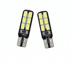 Auto LED-Birne T10 W5W 12 SMD 5630 CAN BUS Side-LEDs
