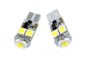 Auto LED-Birne T10 W5W HIGH POWER + 4 SMD 5050 CAN BUS