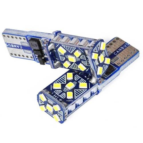 Auto-LED-Lampe W5W T10 2016 15 SMD CAN BUS