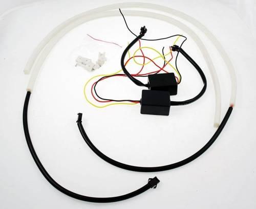DRL 16 PREMIUM | Lichter LED-Tag | flexibel | LED-Streifen-Lichter
