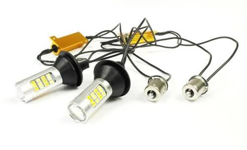 DRL mit 2in1-Anzeige   Birnen 42 SMD 2323   Lichter LED-Tag   automatische Modul
