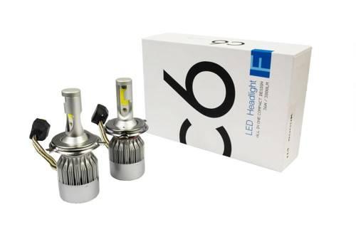 Eine Reihe von LED-Lampen H4 C6 Bridgelux COB ™ 7600 lm