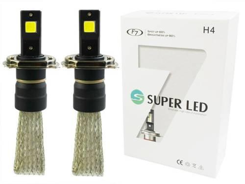 Eine Reihe von LED-Lampen H4 F7 60W COB 16000lm
