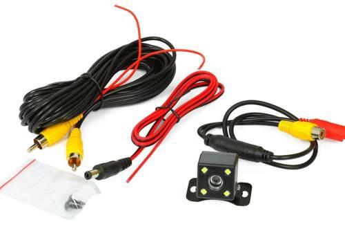 PZ412 | Die Rückfahrkamera HD Nachtsicht | 4 LEDs | IR