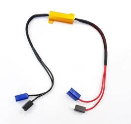 D-50W-8-H1   Filtr LED CAN BUS 50W 8Ω - oprawka H1