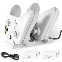 HB-P04 | Ładowarka do padów Xbox One S/X | stacja dokująca z dwoma akumulatorami