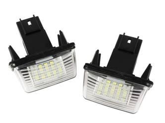 LHLP037S28 Podświetlenia tablicy rejestracyjnej LED PEUGEOT 206 207 306 307 308 406 407