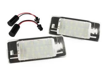 PZD0064 Podświetlenie tablicy rejestracyjnej LED Opel Vectra C KOMBI 02-