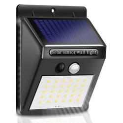 SSL-30LED | Lampa solarna LED z czujnikiem ruchu i zmierzchu | 30 diod LED