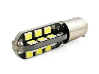 Żarówka samochodowa LED BA9S 24 SMD 2835 CAN BUS 360 stopni