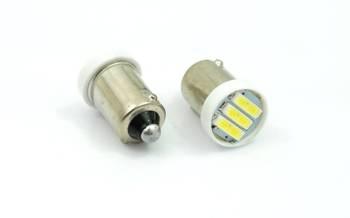 Żarówka samochodowa LED BA9S 3 SMD 7014