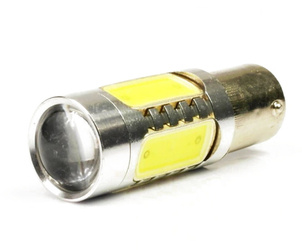 Żarówka samochodowa LED Ba15S 11W (CREE 5W + 4x 1,5W COB)