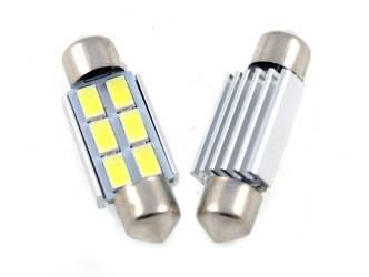 Żarówka samochodowa LED C5W 6 SMD 5630 CAN BUS