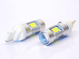 Żarówka samochodowa LED T20 W21W WY21W 21 SMD 2835