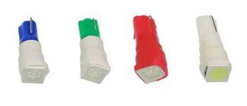 Żarówka samochodowa LED W2W W1,2W T5 R5 1 SMD 5050