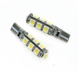Żarówka samochodowa LED W5W T10 13 SMD 5050 CAN BUS