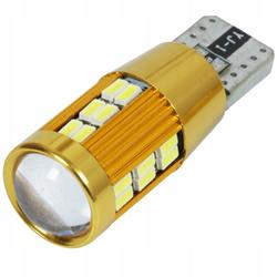 Żarówka samochodowa LED W5W T10 30 SMD 3014