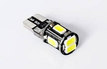 Żarówka samochodowa LED W5W T10 6 SMD 5630 CAN BUS