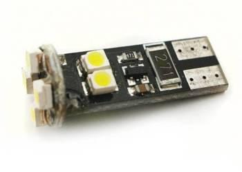 Żarówka samochodowa LED W5W T10 8 SMD 3528 CAN BUS