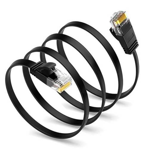 Cat6a-1M | Kabel sieciowy LAN Ethener Kat. 6a | Patchcord RJ45 1M