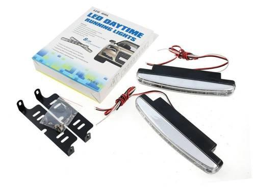 DRL 02A   Światła LED do jazdy dziennej   diody SMD 3528