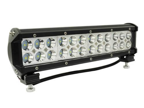 LB-72W-B-Spot | Lampa robocza DUŻA 72W Light Bar prostokątna Spot