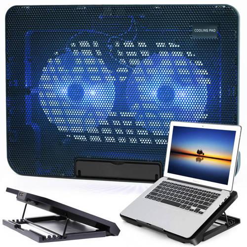 N99 | Podkładka chłodząca - podstawka pod laptopa 11-17'' | Dual 120mm