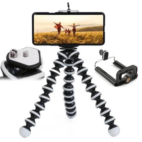 PSI-L03   Elastyczny statyw, tripod, uchwyt na aparat fotograficzny, telefon   rozmiar L