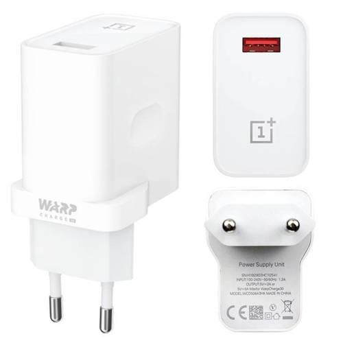 WC7T   Ładowarka sieciowa OnePlus   kompatybilna ze standardami Warp Charge 30W