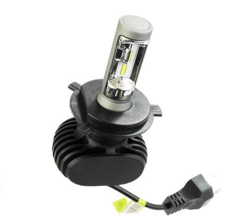 Żarówka LED H4 S1 CSP 4000  lm - 1 sztuka - wersja motocyklowa
