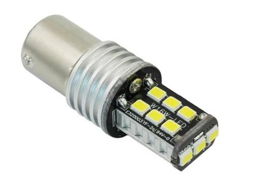 Żarówka samochodowa LED BA15S 15 SMD 2835