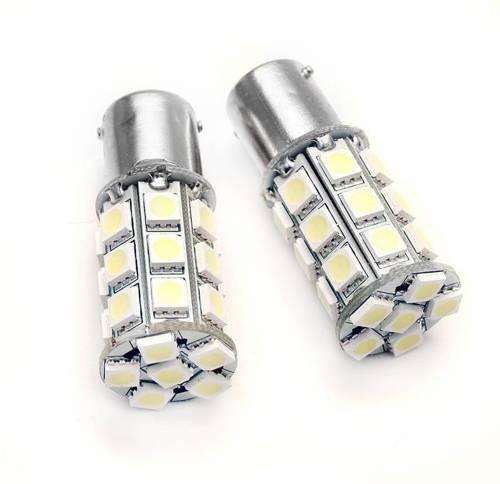 Żarówka samochodowa LED BA15S 27 SMD 5050