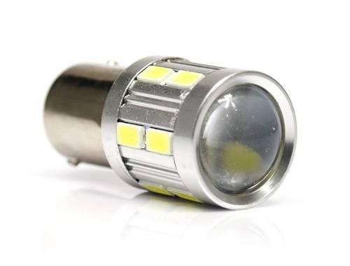 Żarówka samochodowa LED BA15S 5W CREE + 12 SMD 5630
