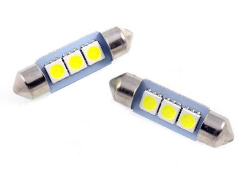 Żarówka samochodowa LED C5W 3 SMD 5050