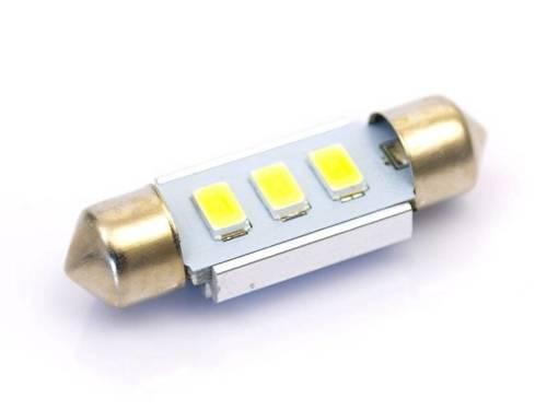 Żarówka samochodowa LED C5W 3 SMD 5630 CAN BUS