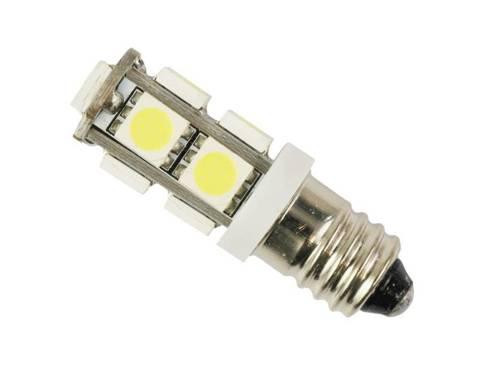 Żarówka samochodowa LED E10 9 SMD 5050 12V