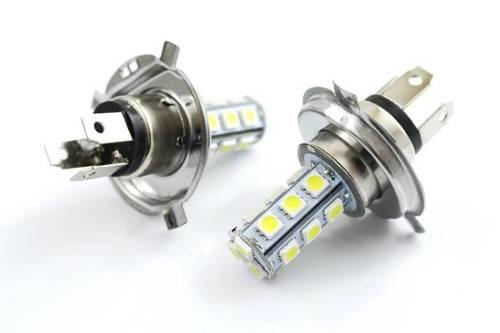 Żarówka samochodowa LED H4 18 SMD 5050